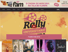 Tablet Preview of famdetodos.com.br